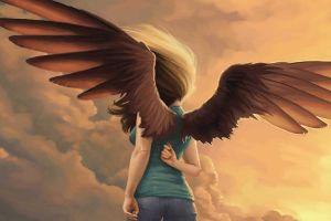 artwork fantasy art wings