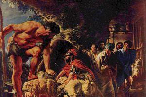artwork oil painting odysseus