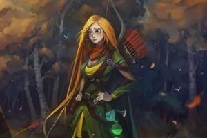 artwork redhead archer