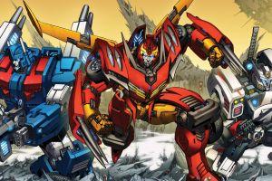 artwork robot transformers