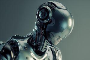 artwork science fiction robot