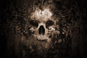 artwork skull fantasy art