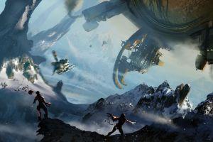 artwork space science fiction
