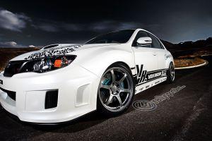 asphalt white cars car vehicle