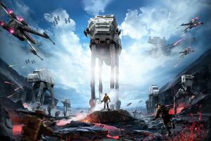 at-at x-wing star wars: battlefront star wars video games
