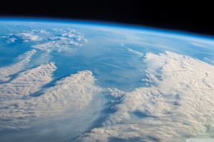 atmosphere space spacescapes nature earth orbital view clouds