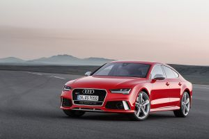 audi rs7 saloon cars red cars car german cars audi
