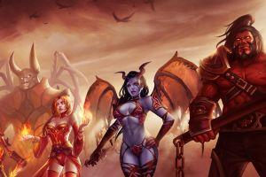 axe defense of the ancient lina dota doombringer queen of pain
