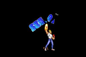 axel stone simple background sega streets of rage 16-bit