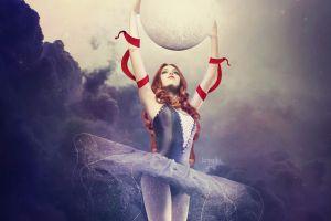 ballerina women artwork