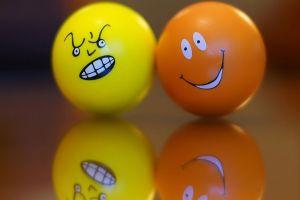 balls smiley smiling