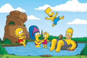 bart simpson cartoon marge simpson lisa simpson homer simpson maggie simpson the simpsons