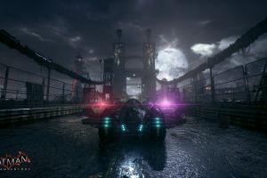 batman: arkham knight batmobile screen shot car video games