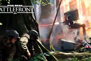 battle of endor endor star wars rebel alliance at-st stormtrooper star wars: battlefront