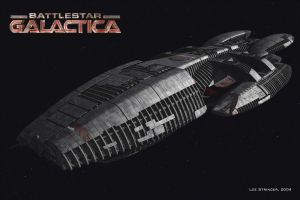battlestar galactica science fiction 2004 (year) render spaceship