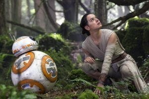 bb-8 star wars: the force awakens star wars daisy ridley robot actress women science fiction movies rey