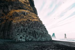beach outdoors nature cliff coast
