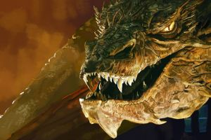 benedict cumberbatch smaug dragon the hobbit: the desolation of smaug