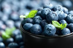 berries fruit macro