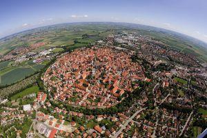 bird's eye view germany cityscape city
