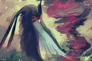 birds painting pokémon swellow