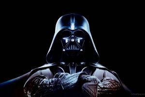 black background darth vader star wars