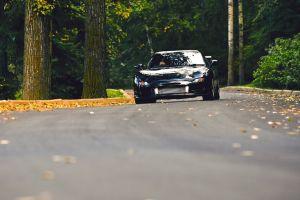 black cars road car mazda vehicle