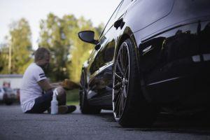 black cars vehicle car volkswagen men