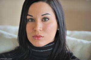 black hair pornstar face valentina