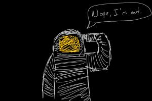 black humor drawing simple background
