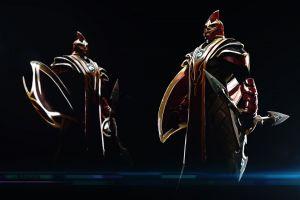 blades character design  dota 2 silencer