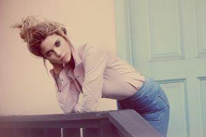 blonde ashley benson women actress celebrity