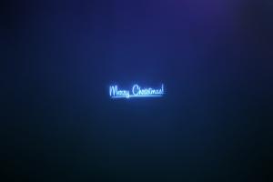 blue background simple background christmas minimalism