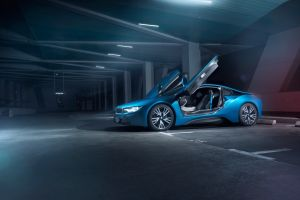 blue cars bmw car