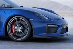 blue cars porsche  cayman porsche