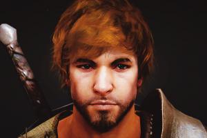 blue eyes black desert video games