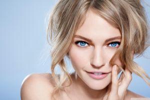 blue eyes women sasha pivovarova blonde