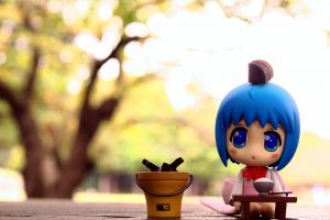 blue hair puppets toys