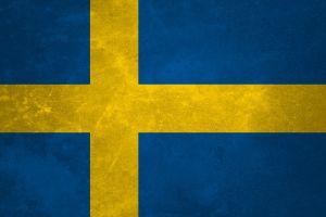 blue yellow sweden flag