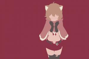 blushing arde liliruca dungeon ni deai wo motomeru no wa machigatteiru darou ka nekomimi minimalism anime anime girls