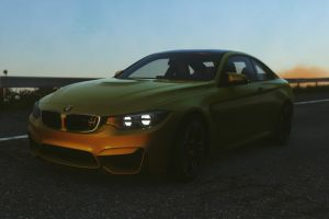 bmw m4 coupe car driveclub racing