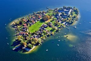 boat island germany water house