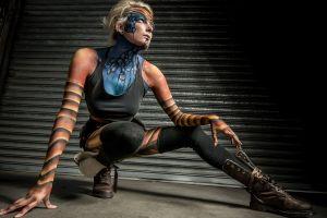 body paint fantasy art model women science fiction