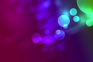 bokeh colorful abstract circle