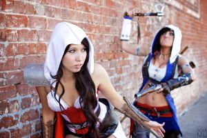bricks cosplay jessica nigri assassin's creed