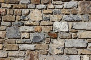 bricks stones wall