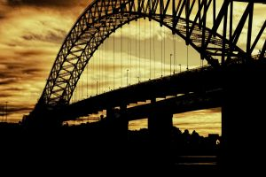 bridge photography sunset sydney harbour bridge