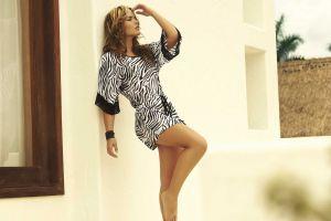 brunette fashion model bikini melissa giraldo women