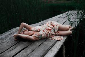 brunette women outdoors outdoors women model