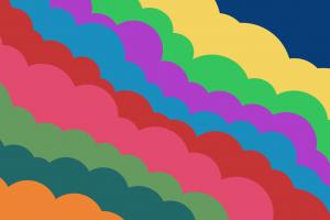bubbles colorful clouds bubbles